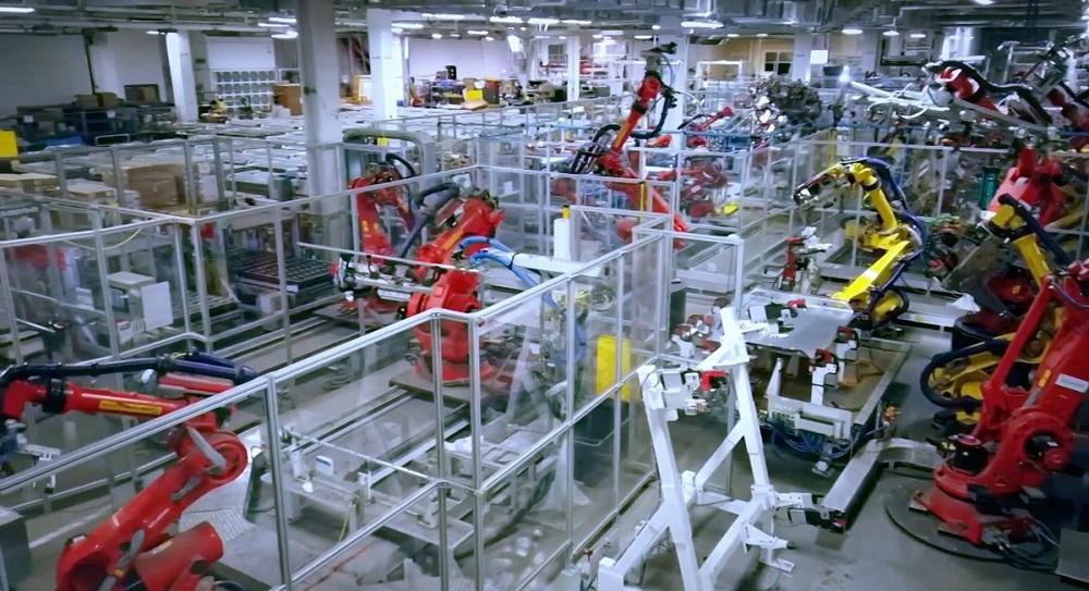 interno Gigafactory