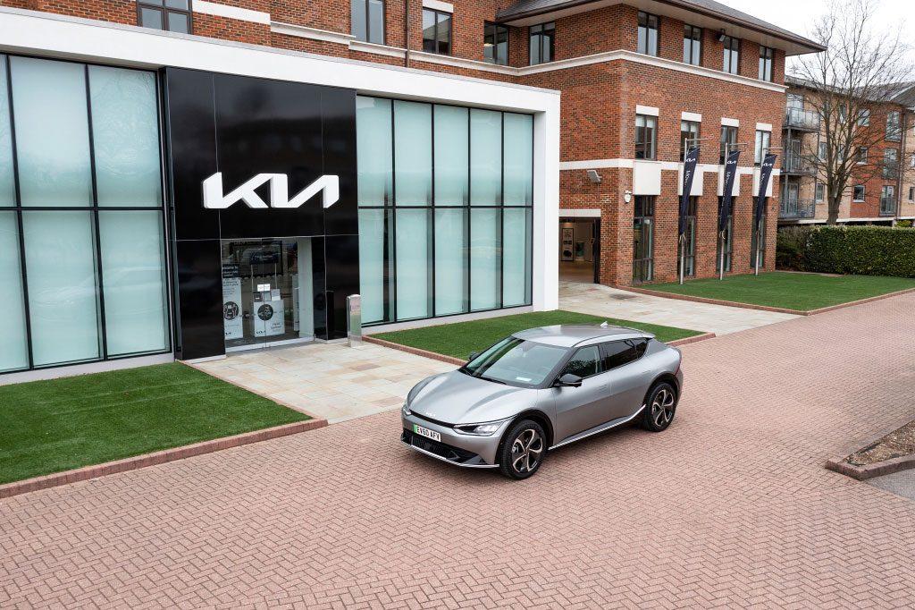 Kia EV6 auto elettrica