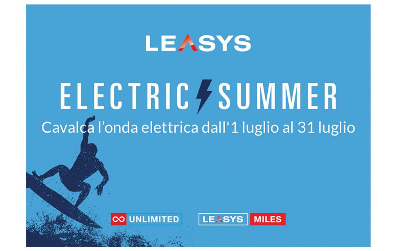 leasys presenta electric summer un mese di offerte per il nlt