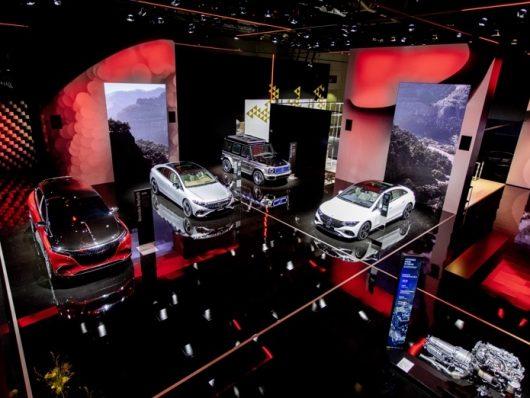 Mercedes al Salone di Monaco 2021