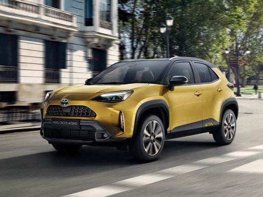 Nuova Toyota Yaris Cross 2022
