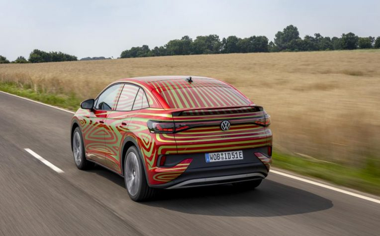 Volkswagen ID.5 Salone Monaco 2021