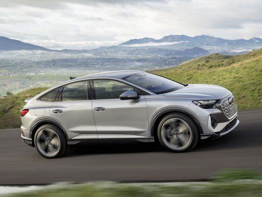 Nuova Audi Q4 Sportback e-tron, auto elettrica
