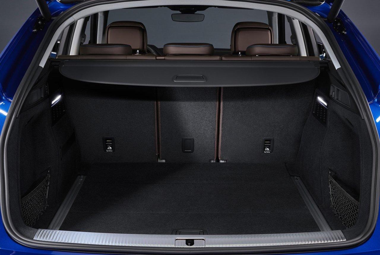 Audi Q5 Sportback bagagliaio