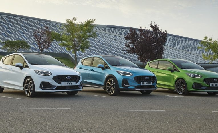 Ford Fiesta restyling 2022
