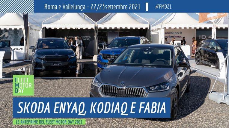 Skoda anteprime Fleet Motor Day 2021