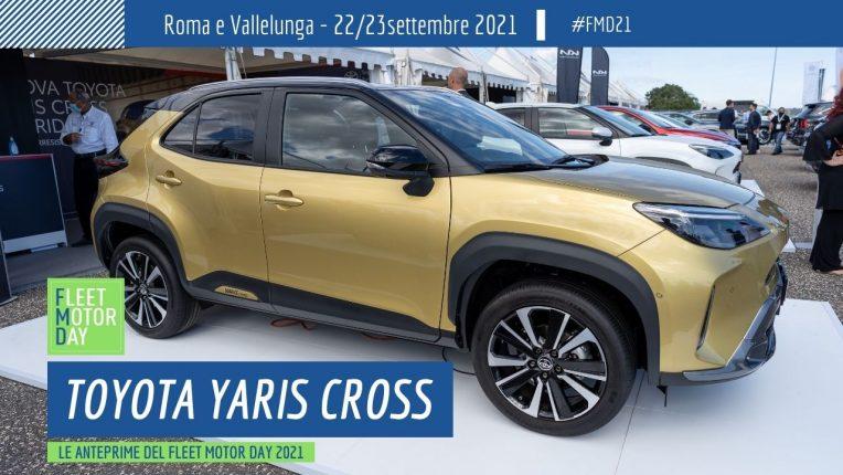 Toyota Yaris Cross Fleet Motor Day 2021