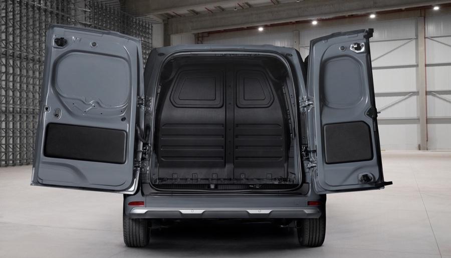 capacità di carico Nissan Townstar van