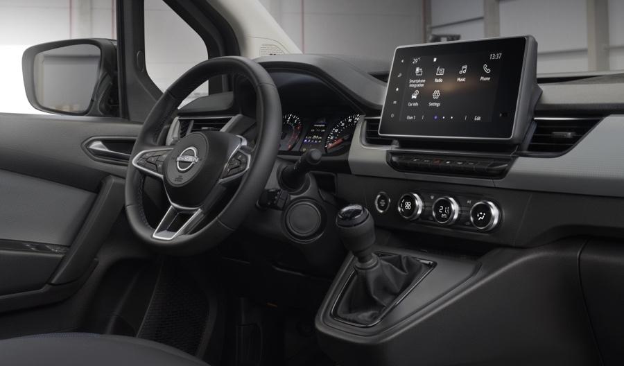 infotainment Nissan townstar van