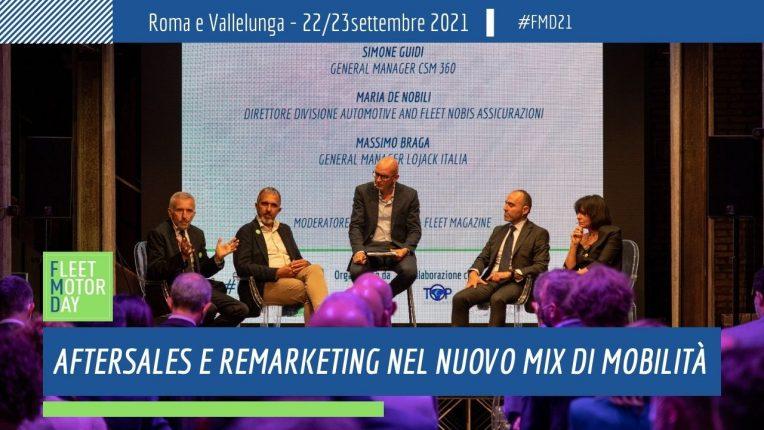 Aftersales Remarketing nuovo mix mobilita workshop Fleet Motor Day 2021