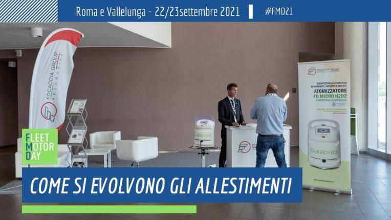 Evoluzione allestimenti veicoli Focaccia Group Fleet Motor Day 2021