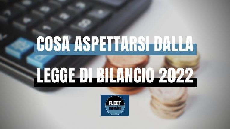 Legge di bilancio 2022