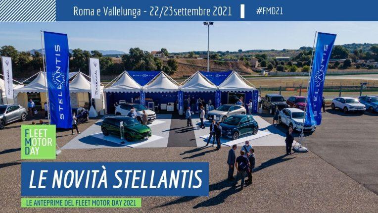 Stellantis anteprime Fleet Motor Day 2021