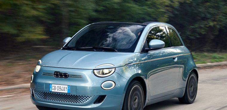 Fiat Nuova 500 eletta Auto Europa 2020