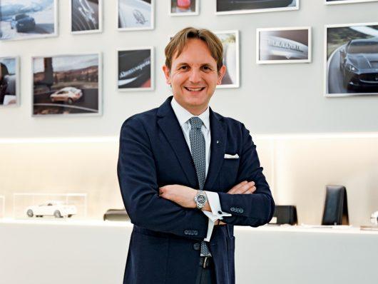 Luca Delfino, head of Maserati Emea