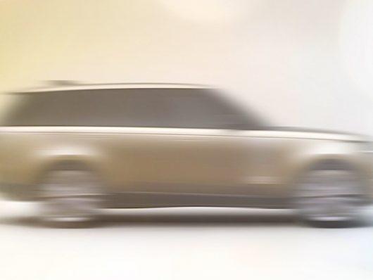 presentazione Range Rover 2022
