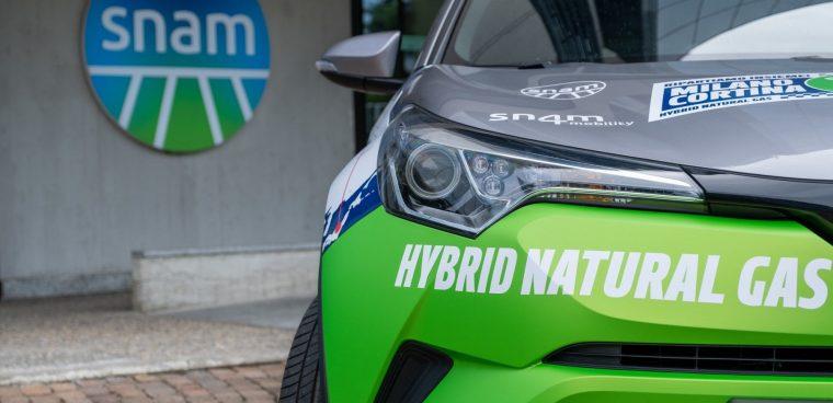 Toyota e Snam uniscono le forze per sviluppare la mobilità a idrogeno